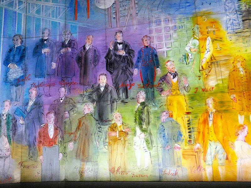 largest painting electricity fairy paris by raoul dufy