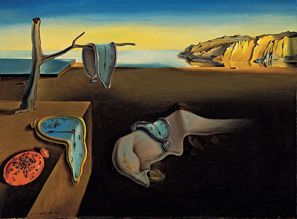 famous painting persistence memory salvador dali