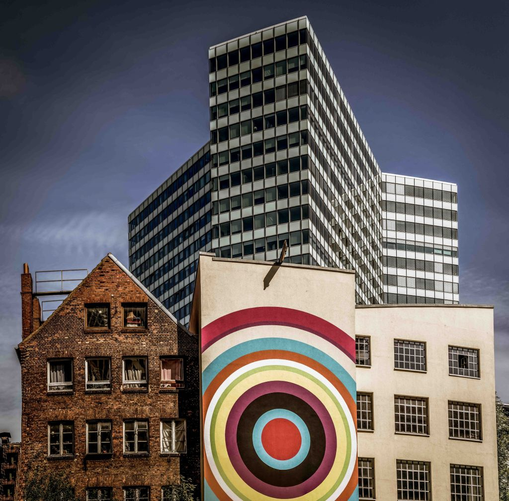 colourful architecture mixture photography by volker sander